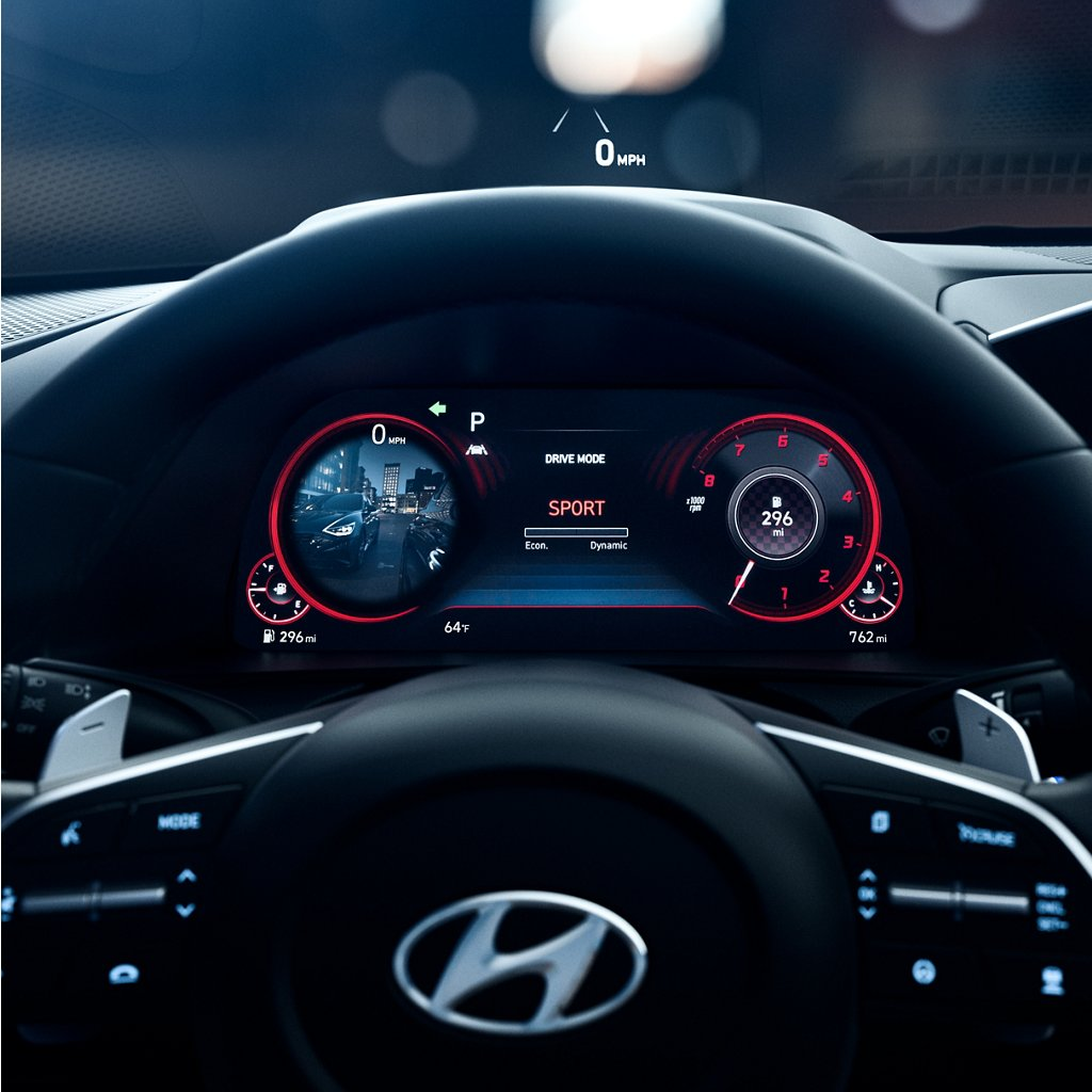 2020 Hyundai Sonata SEL Plus Digital Gauge Cluster