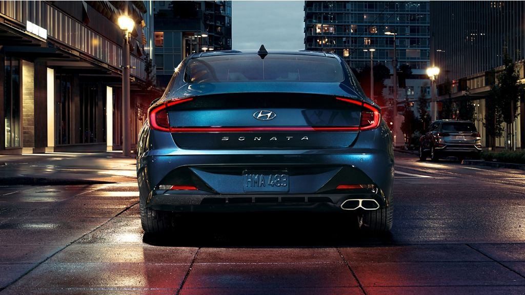 2020 Hyundai Sonata rear lights