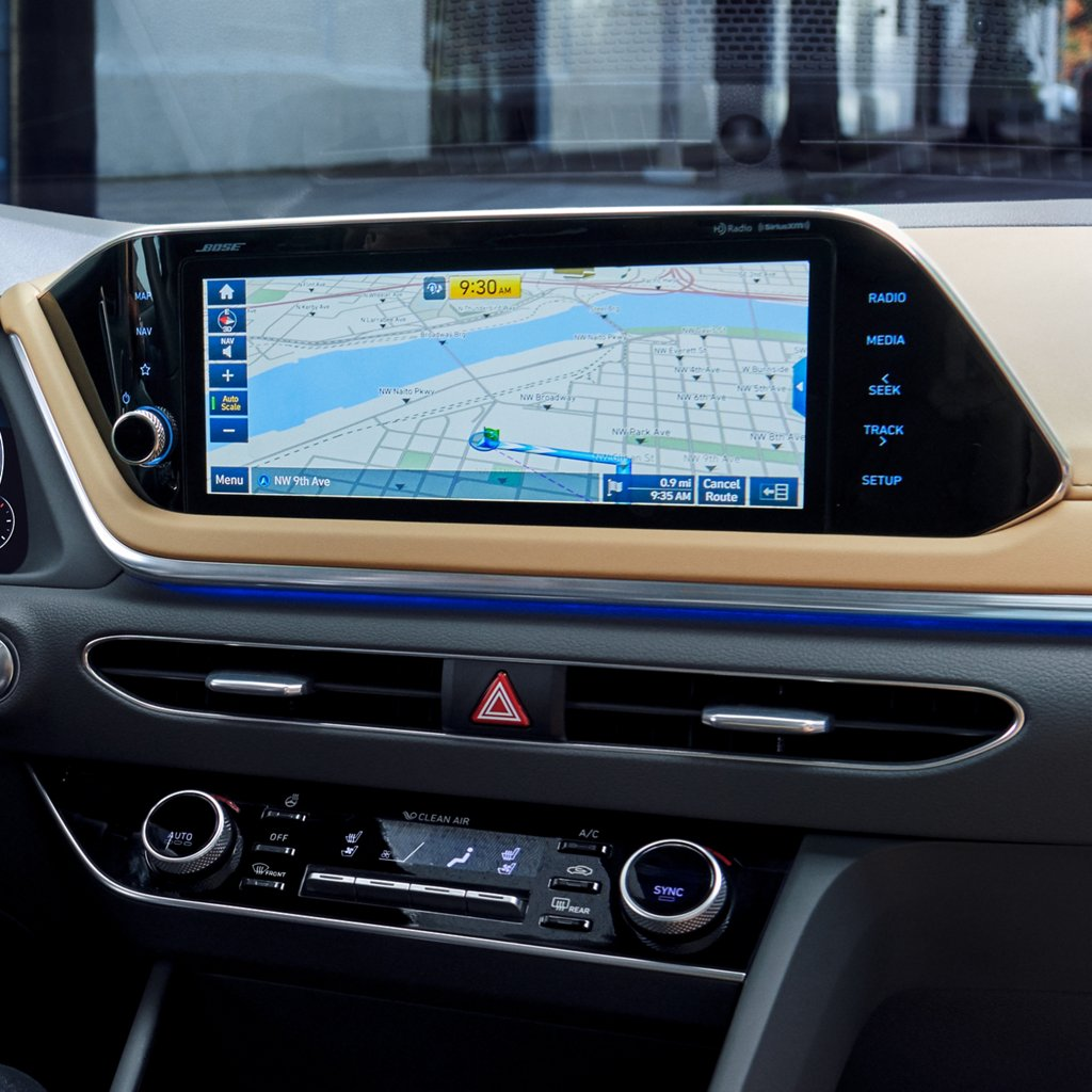 2020 Hyundai Sonata Limited Touchscreen Navigation System