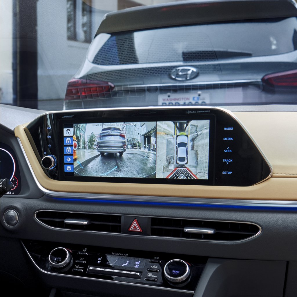2020 Hyundai Sonata Limited Surround View Monitor