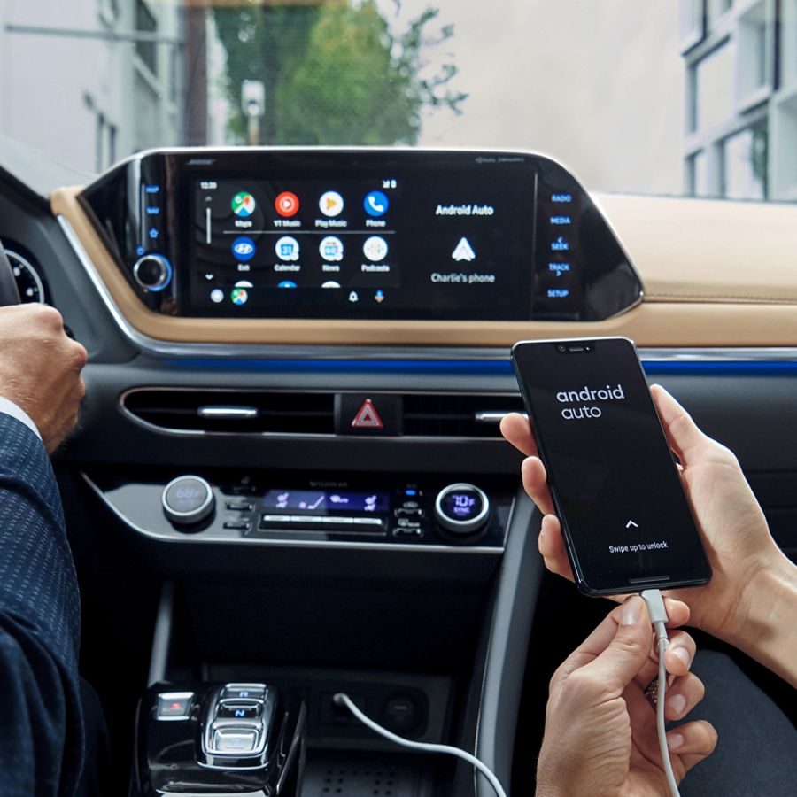 2020 Hyundai Sonata Android Auto and Apple CarPlay