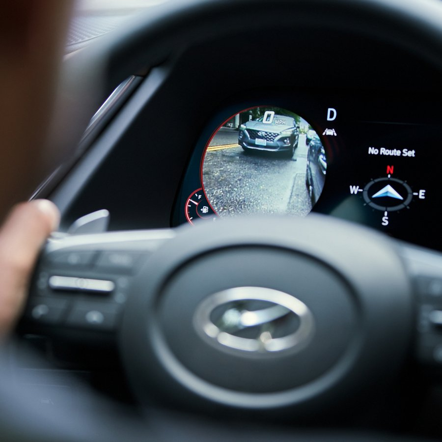 blind spot view monitor