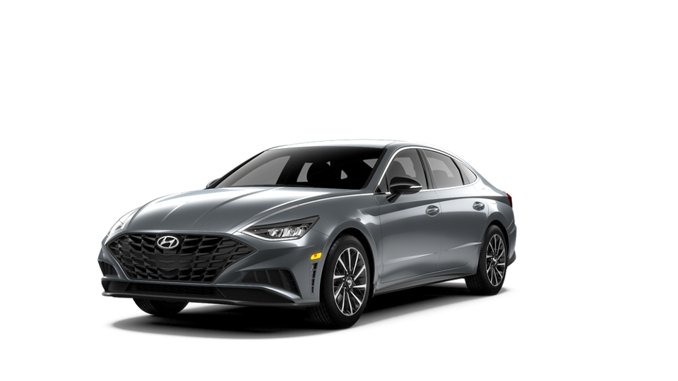 360 Exterior Image of the 2020 SONATA SEL Plus in Hampton Gray