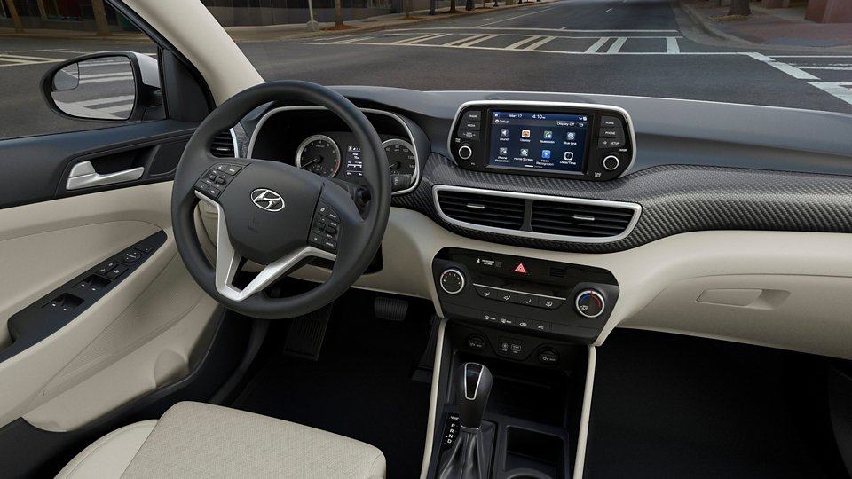 360 Interior Image of the 2020 TUCSON SE in Beige