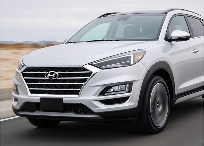 2020 Hyundai Tucson Limited front grille