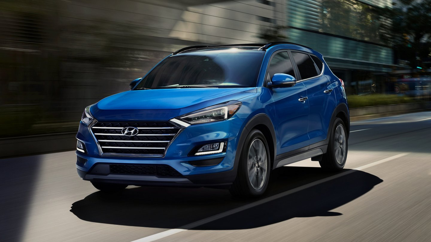 2020 Hyundai Tucson SEL in blue