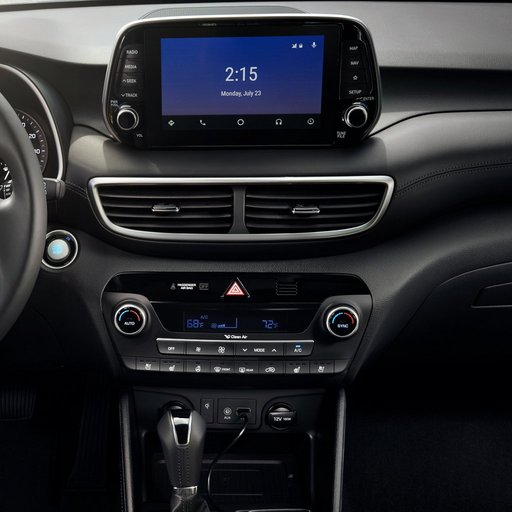 2020 Hyundai Tucson SEL Android Auto and Apple CarPlay