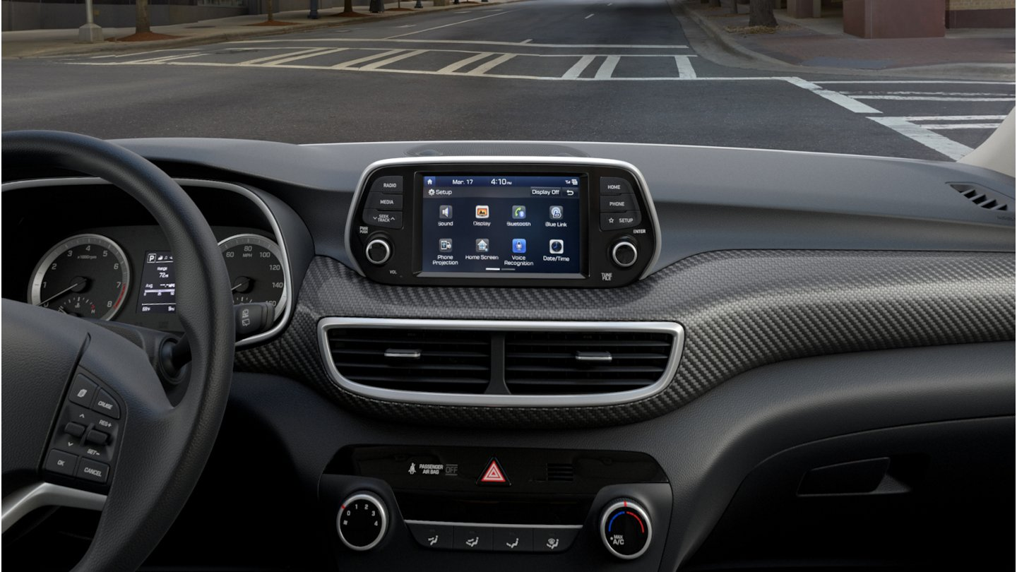 2020 Hyundai Tucson SE touchscreen display audio