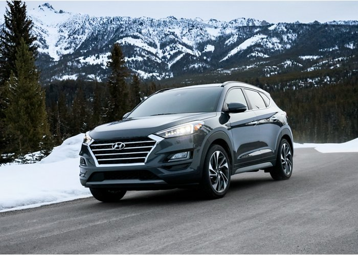 2020 Hyundai Tucson Value windshield wiper de-icer