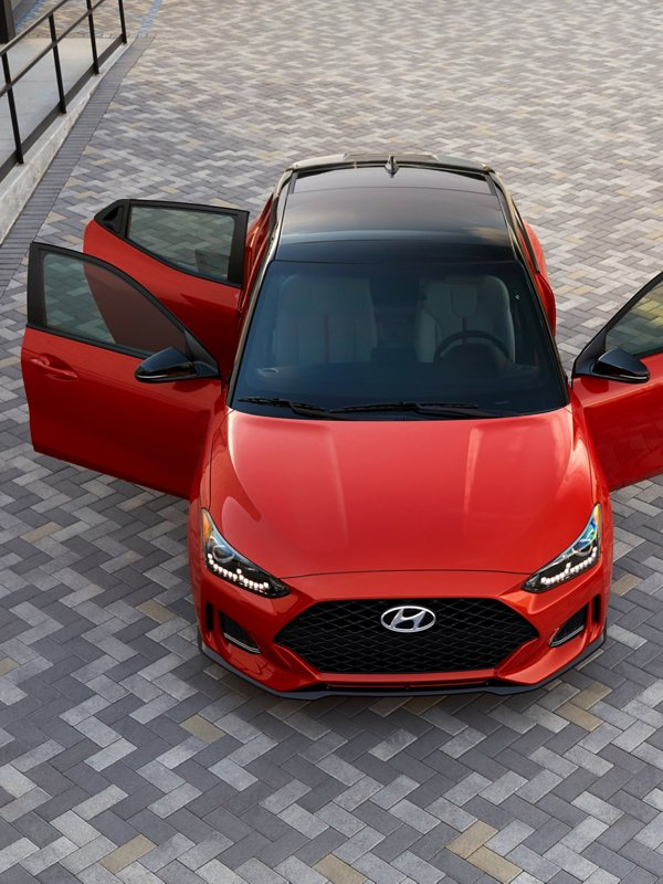 2020 Hyundai Veloster Third door