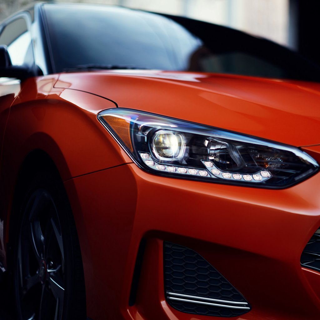 2020 Hyundai Veloster Turbo R-Spec LED headlights