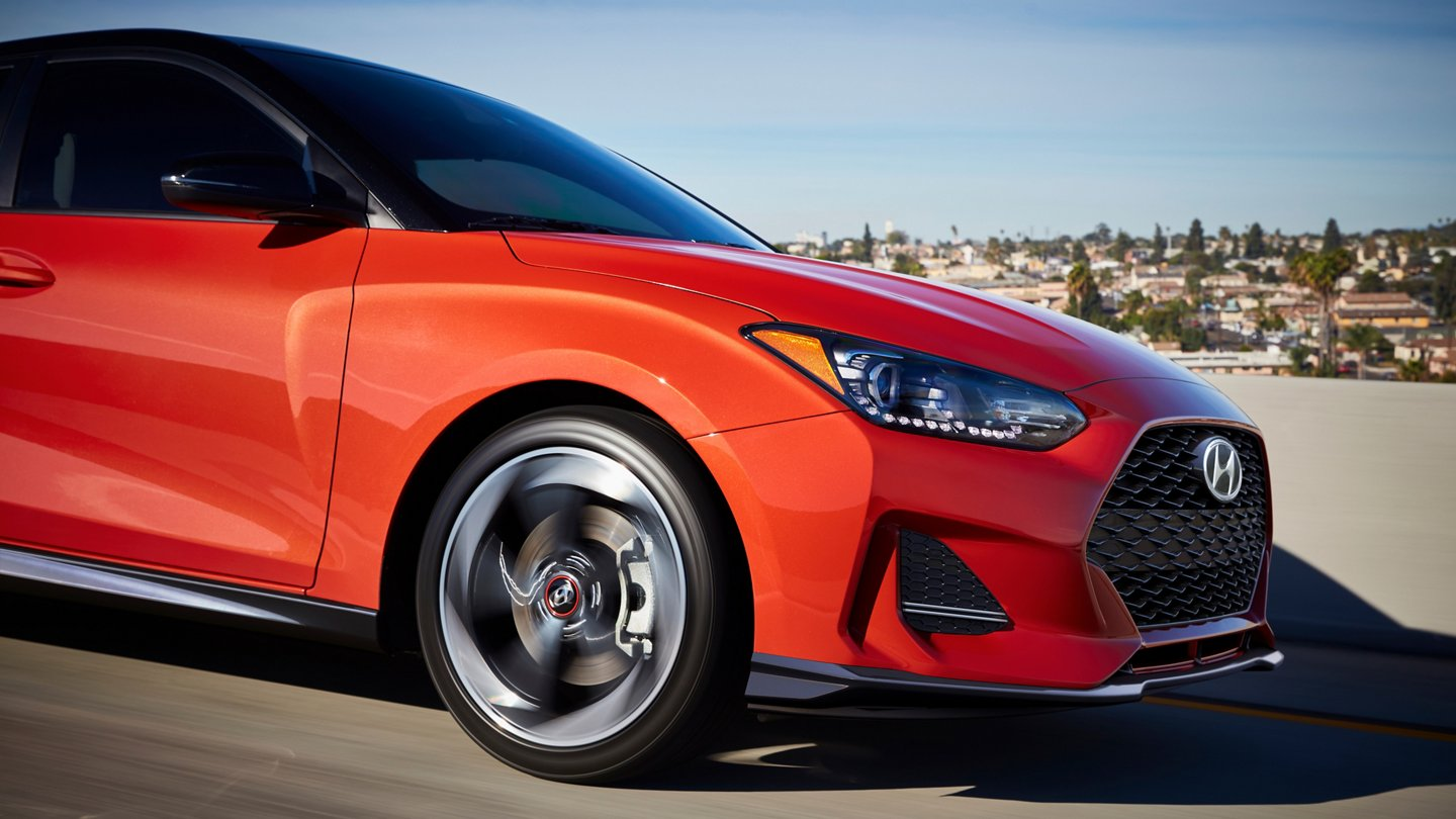 2020 Hyundai Veloster Turbo R-Spec LED Daytime running lights