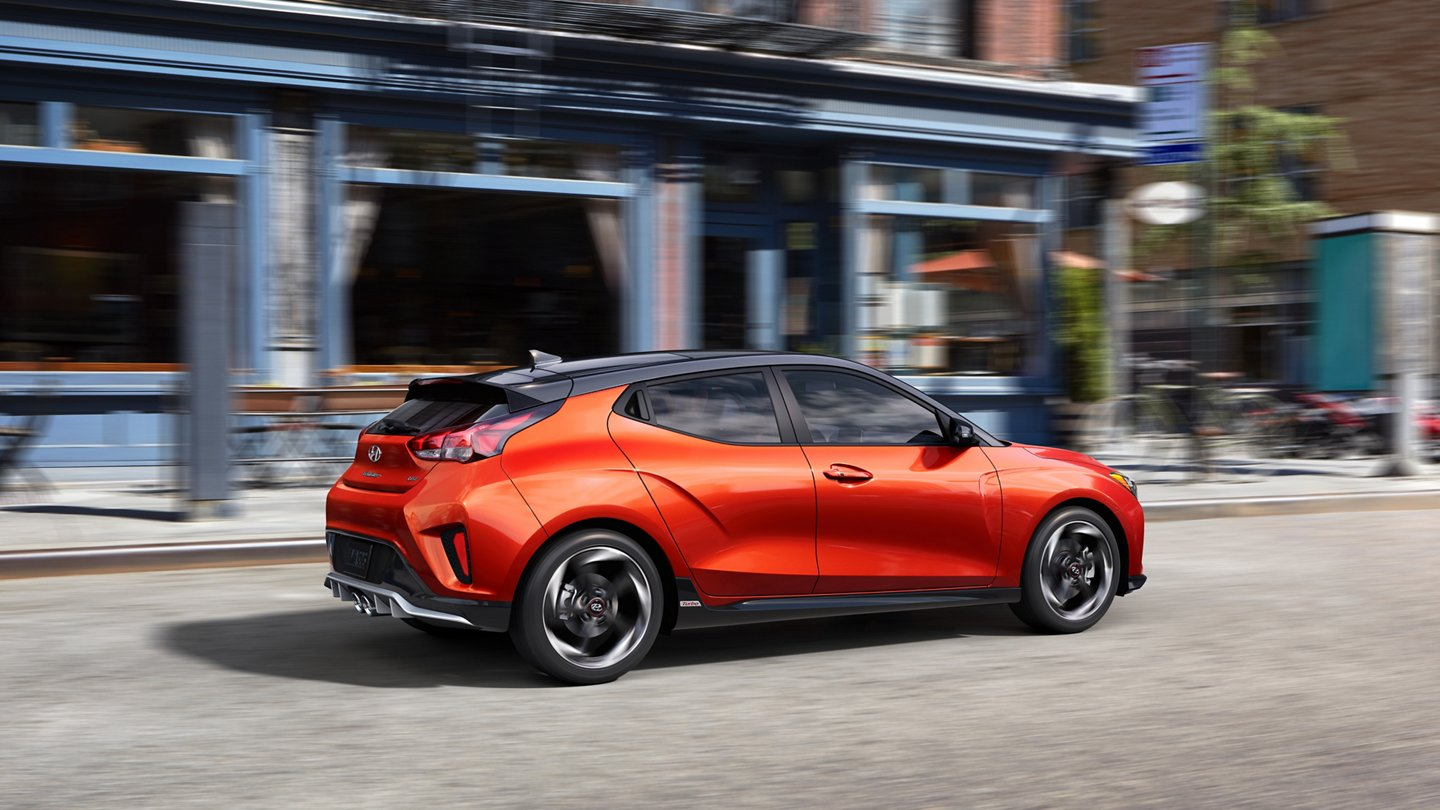 2020 Hyundai Veloster in Orange