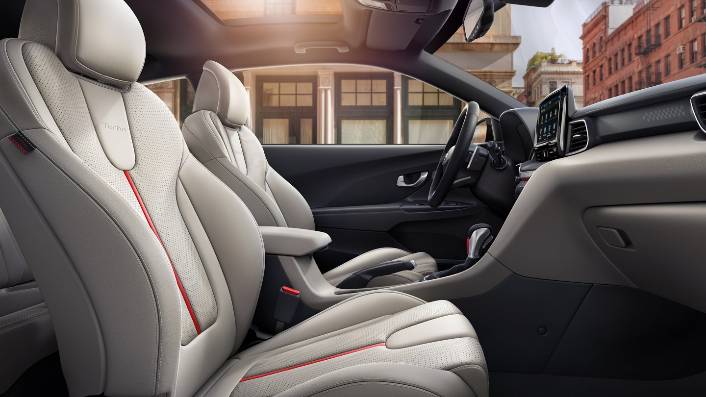 2020 Hyundai Veloster Turbo Ultimate heated front seats