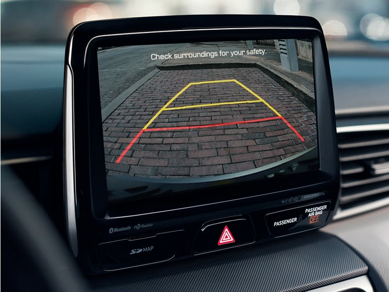 2020 Hyundai Veloster rear view camera