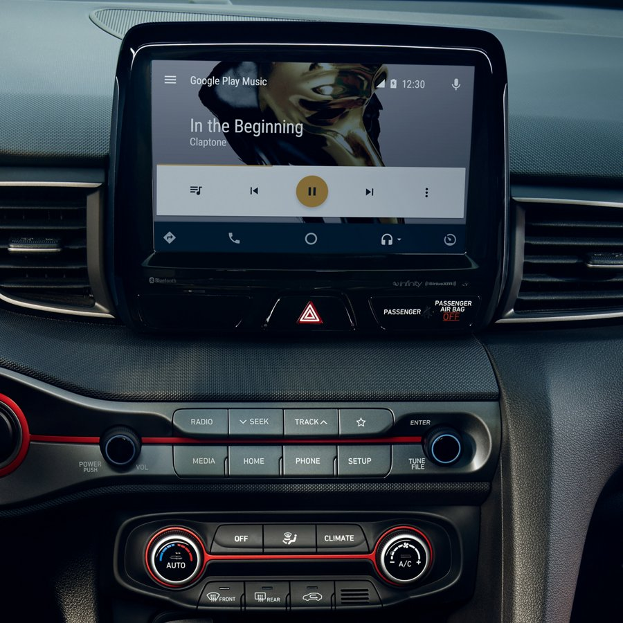2020 現代汽車 Veloster Android Auto 和 Apple CarPlay