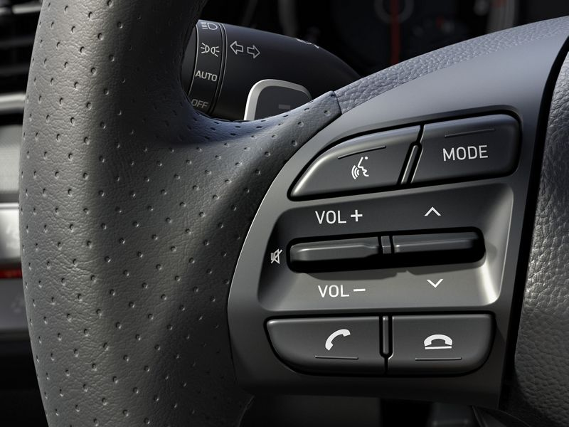 2020 Hyundai Veloster Steering Wheel Controls