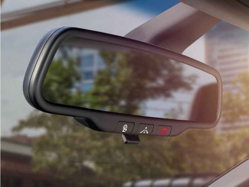 2020 Hyundai Veloster rear view mirror