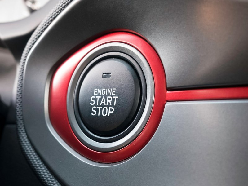2020 Hyundai Veloster Turbo R-Spec push button start