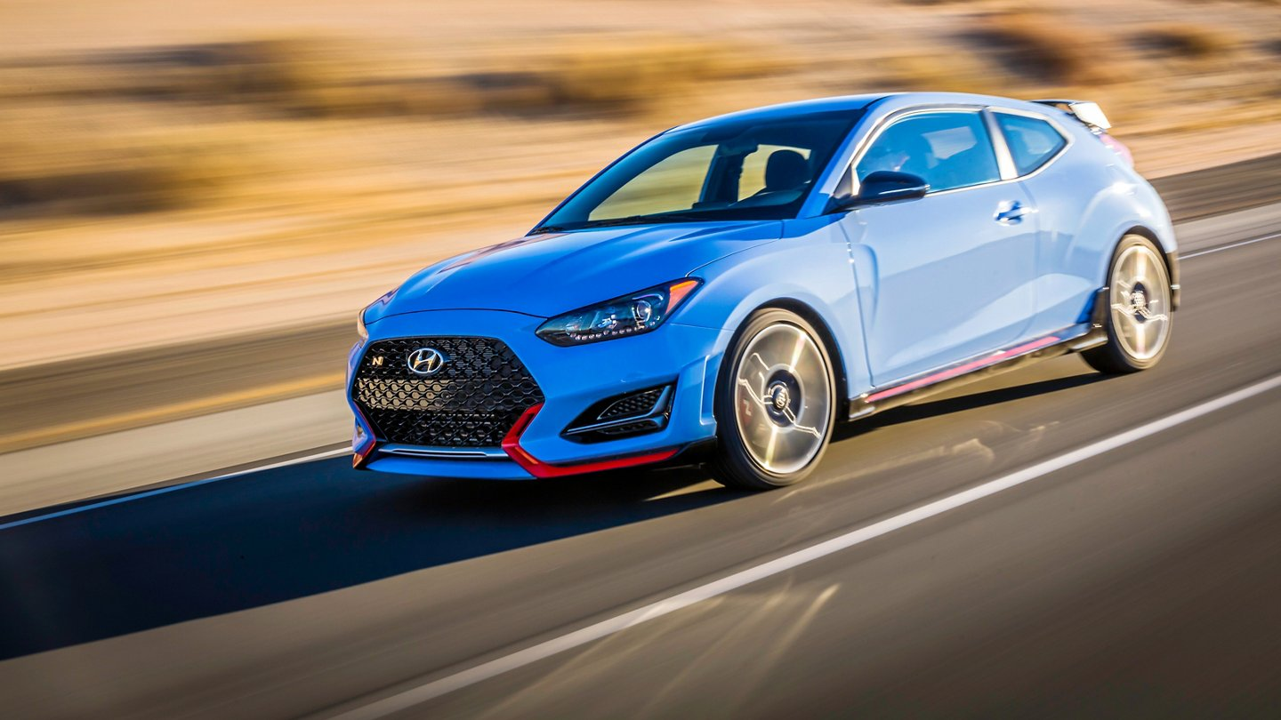 Hyundai Veloster N in Blue