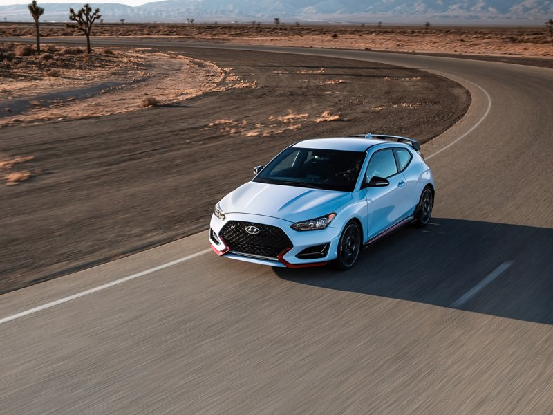2020 Veloster N front Grille