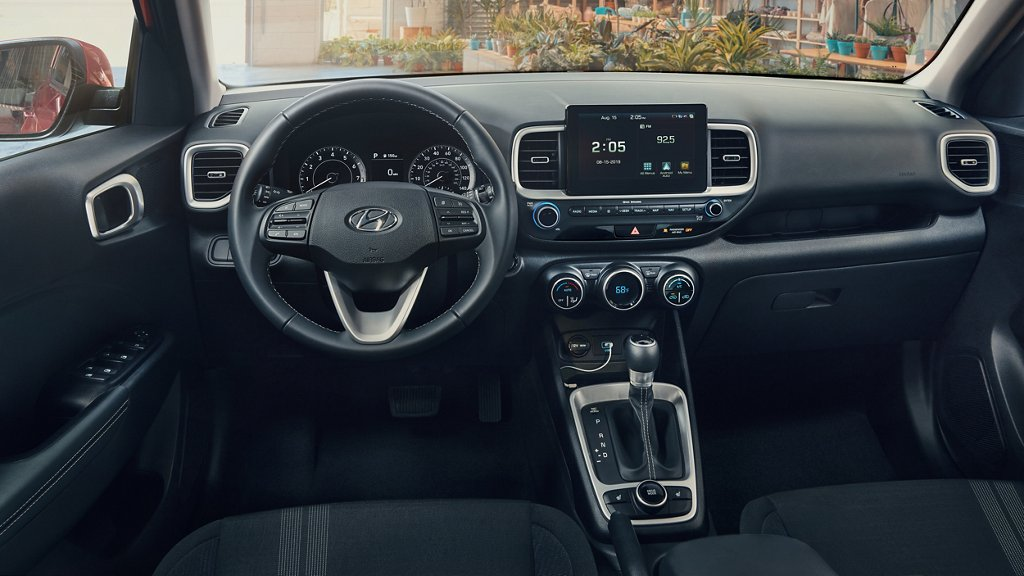 2020 Hyundai Venue dashboard