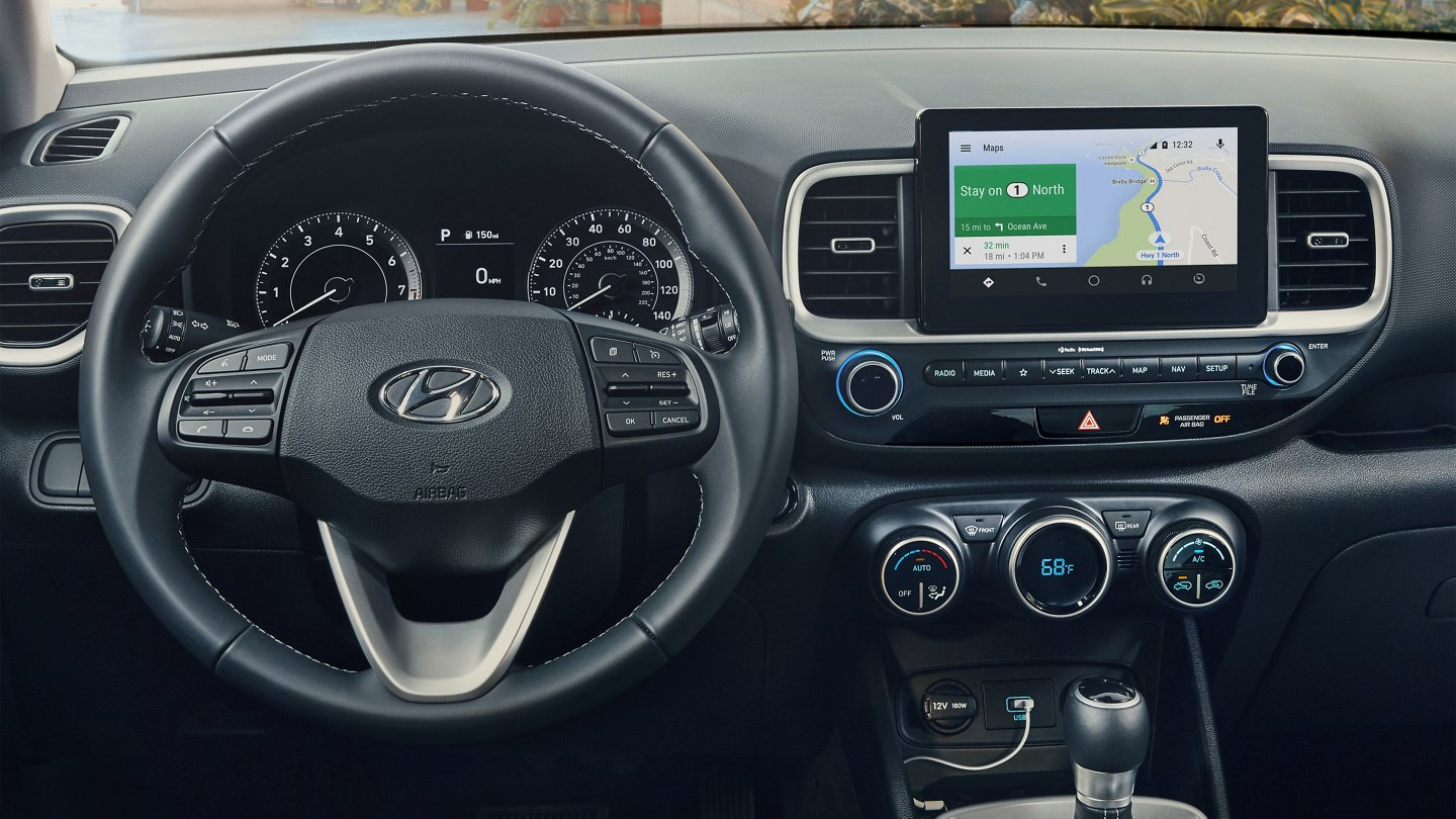 2020 Hyundai Venue Denim 8-in display audio