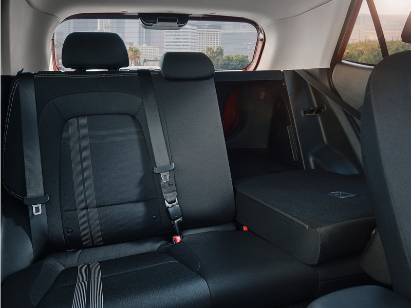 2020 Venue Folding Rear Seats