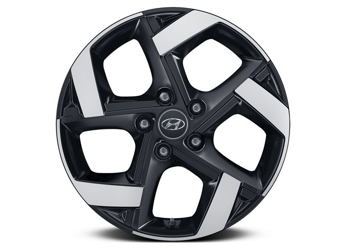 2020 Hyundai Venue Denim 17-inch alloy wheels