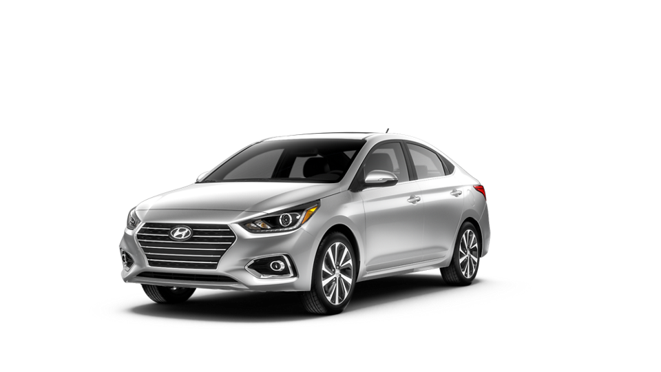 360 Exterior Image of the 2021 ACCENT Limited in Olympus Silver