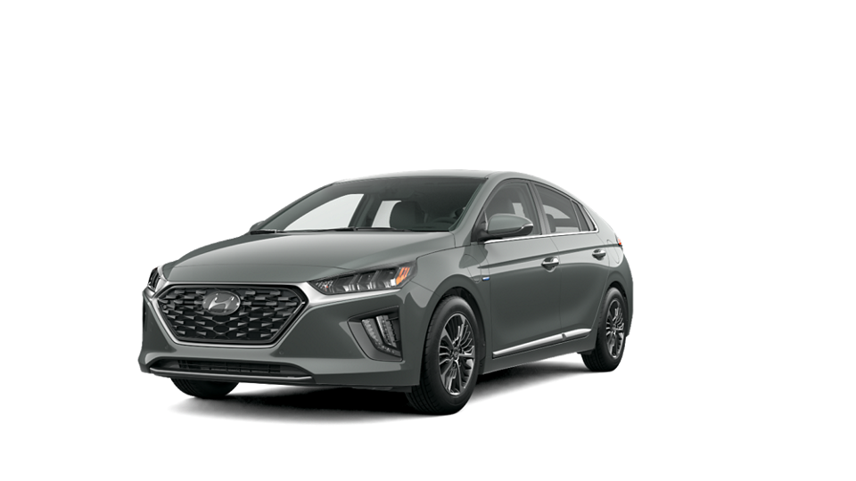 360 Interior Image of the 2021 IONIQ Plug-in Hybrid Limited in Amazon Gray