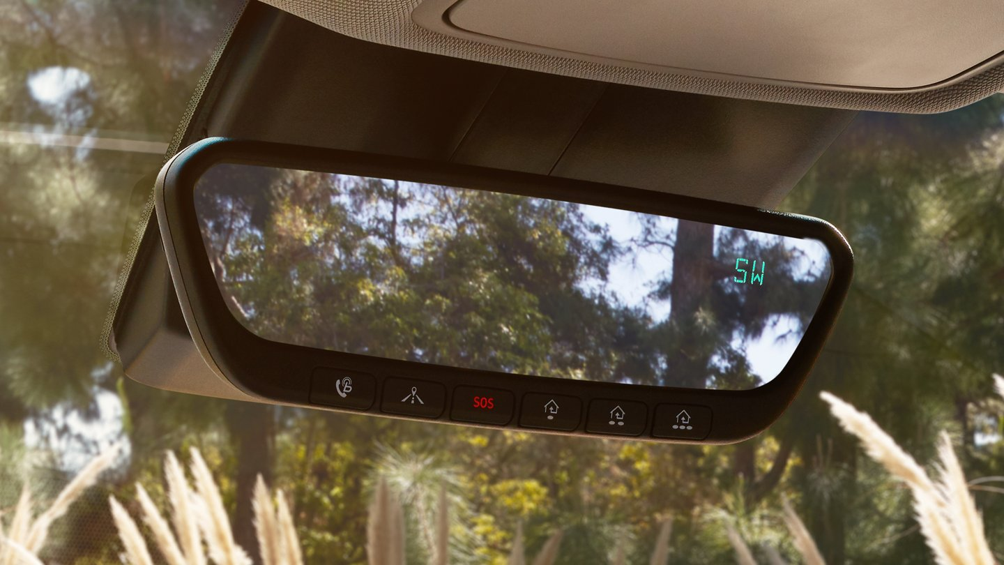 2020 Hyundai Kona Electric Limited Rearview Mirror