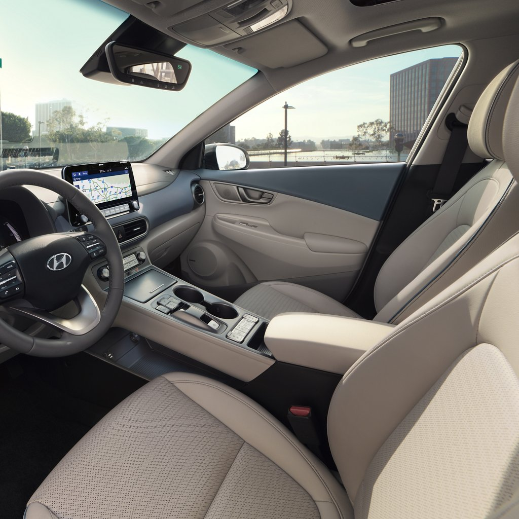 2021 Hyundai Kona Electric Limited Driver's Seat