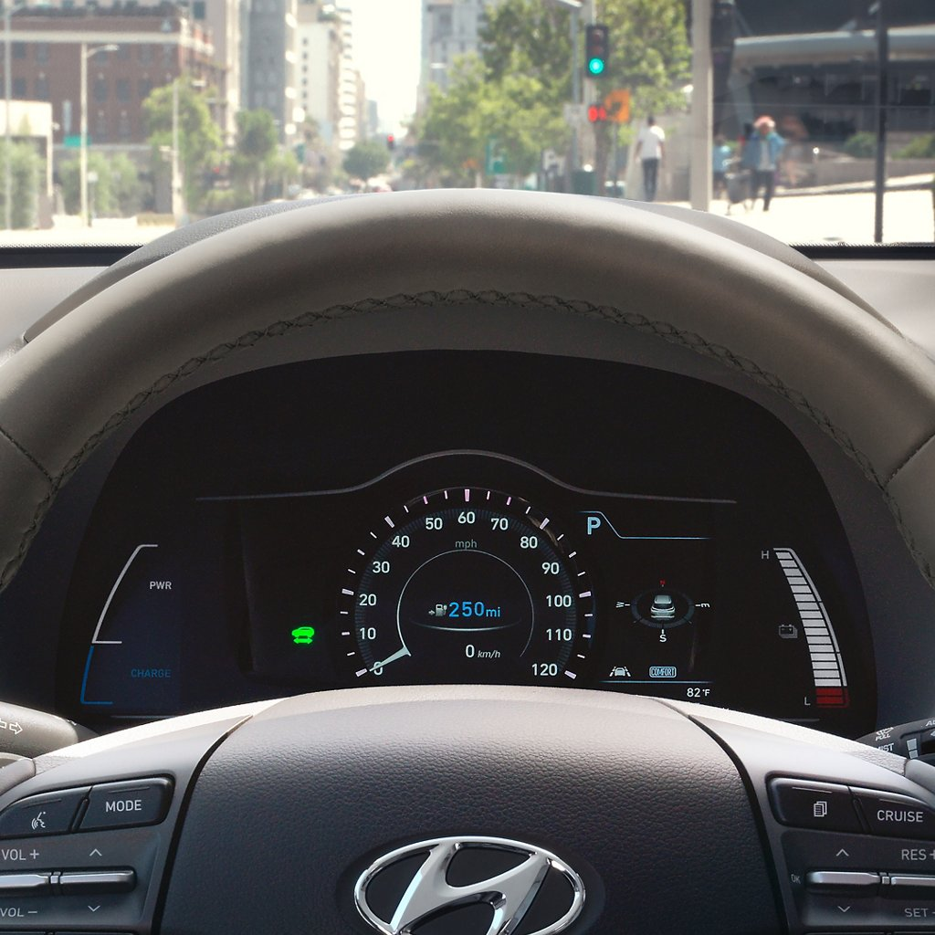 2020 Hyundai Kona Electric Limited Driver's Seat