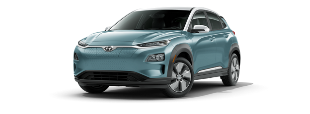 Kona Electric 2021 color Ceramic Blue