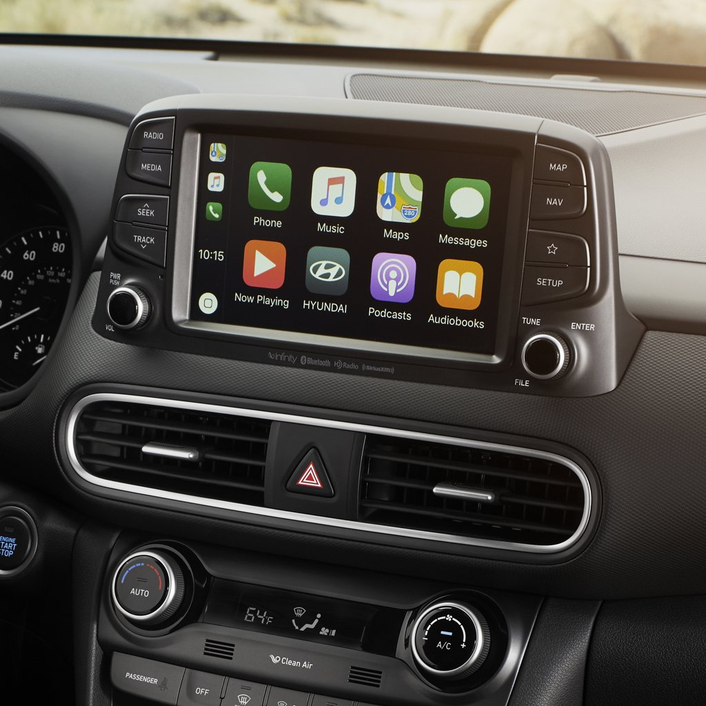 2021 現代汽車 Kona SE Android Auto 和 Apple Carplay