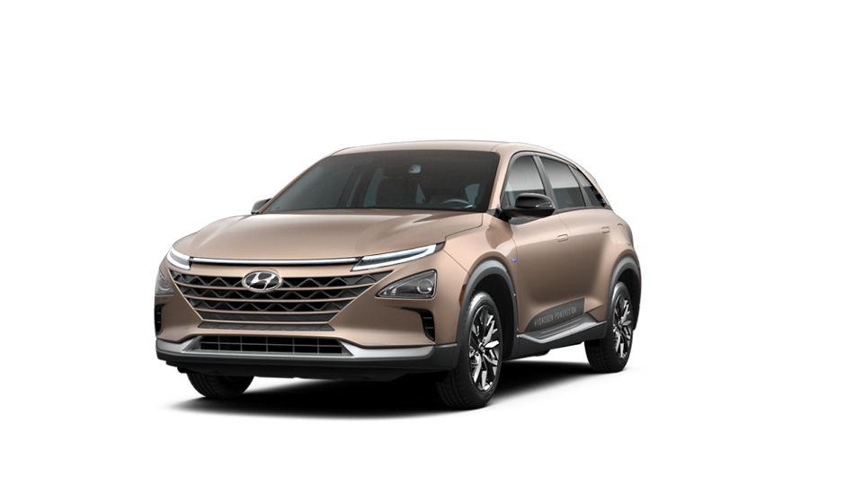 360 Interior Image of the 2021 NEXO Fuel Cell Blue in Copper Metallic