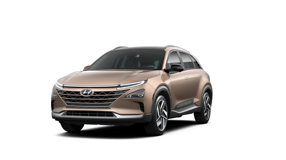 360 Interior Image of the 2021 NEXO Fuel Cell Limited in Copper Metallic