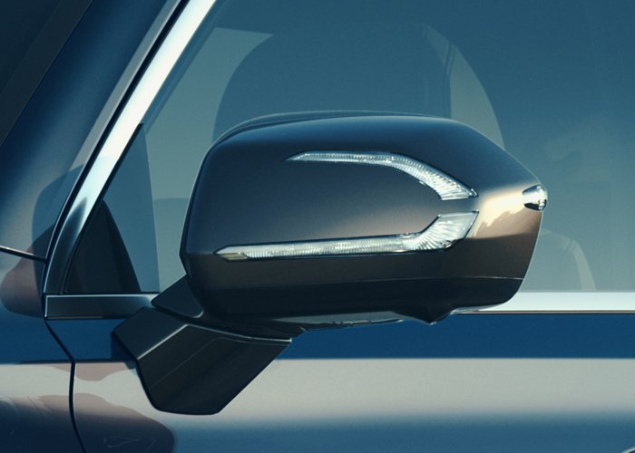 2021 Hyundai Palisade Limited Side Mirrors with turn signal indicators