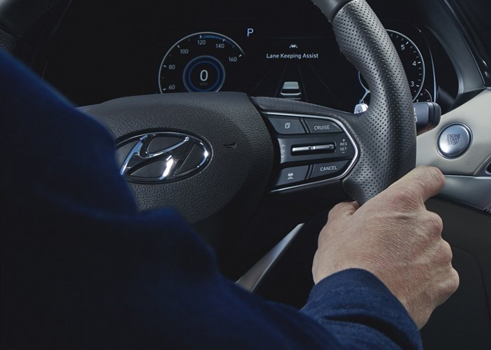 2021 Hyundai Palisade Limited heated steering wheel