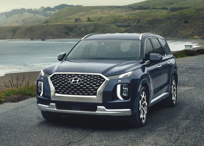 2021 Hyundai Palisade Limited LED Daytime running lights