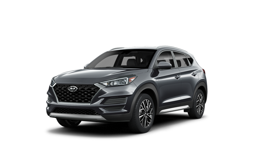 360 Exterior Image of the 2021 TUCSON SEL in Magnetic Force