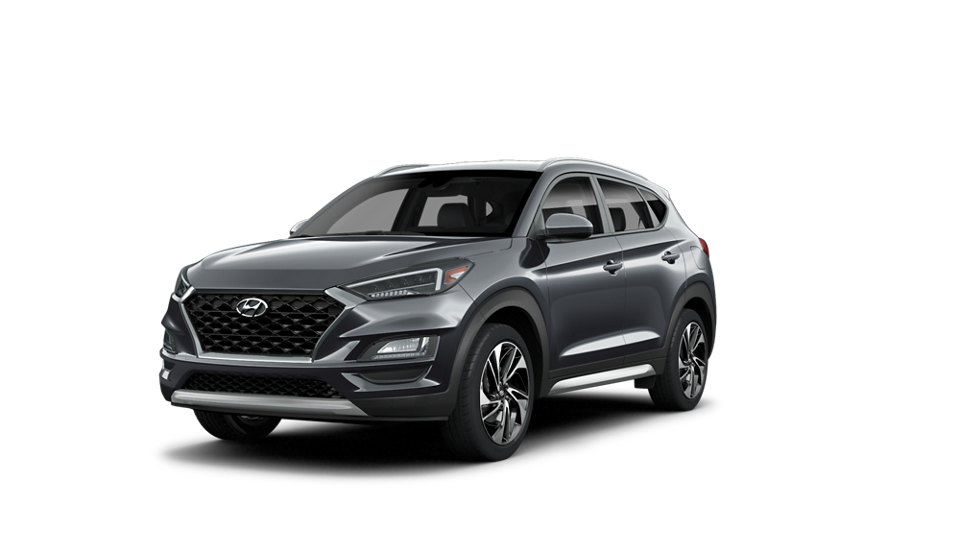 360 Exterior Image of the 2021 TUCSON Sport in Magnetic Force