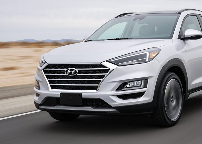 2021 Hyundai Tucson Limited Chrome Accents