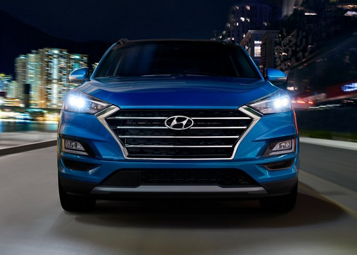 2021 Hyundai Tucson SEL Front Grille