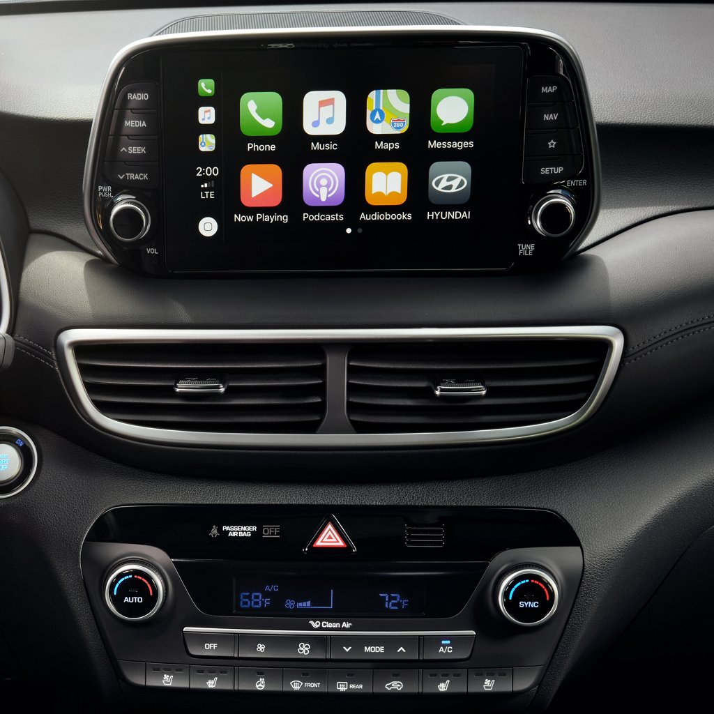 2021 現代汽車 Tucson Limited Android Auto 與 Apple CarPlay