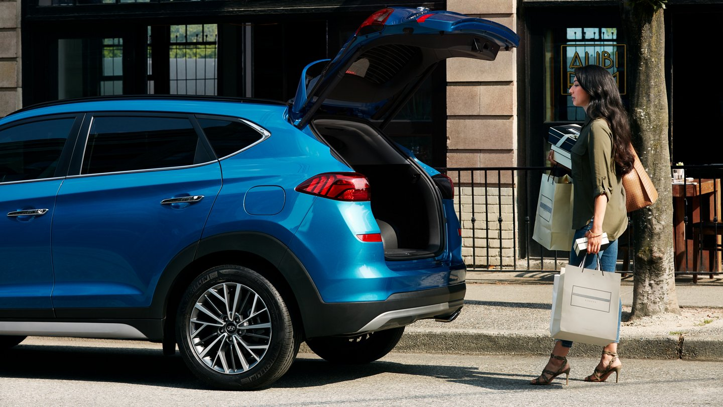 2021 Hyundai Tucson Limited Hands free Smart Trunk