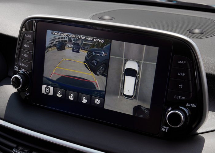 2021 Hyundai Tucson Limited Surround view monitor