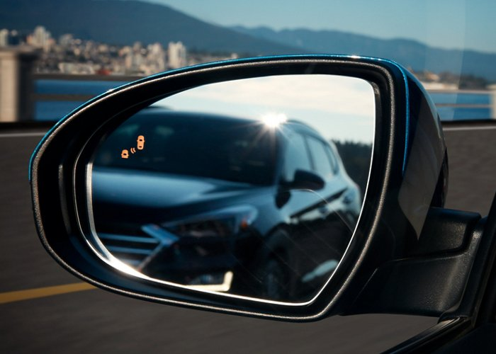 2021 Hyundai Tucson Limited Blind Spot Collision Warning
