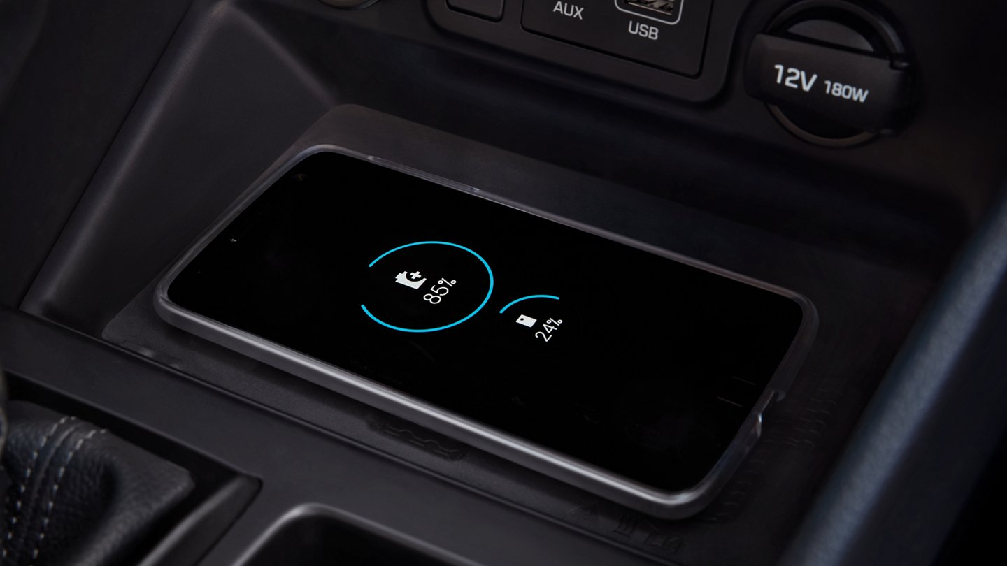 2021 Hyundai Tucson Limited Wireless Charger